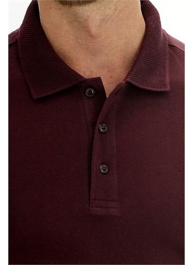 Kiğılı Tişört Bordo